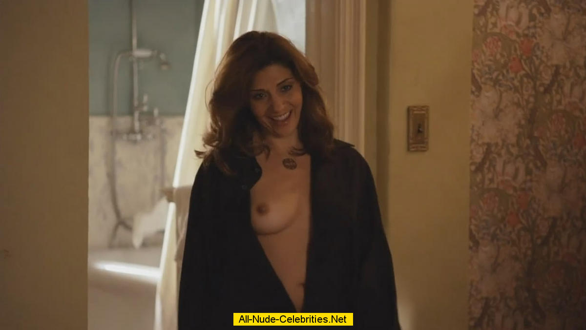 Callie Thorne nude scenes from Californication